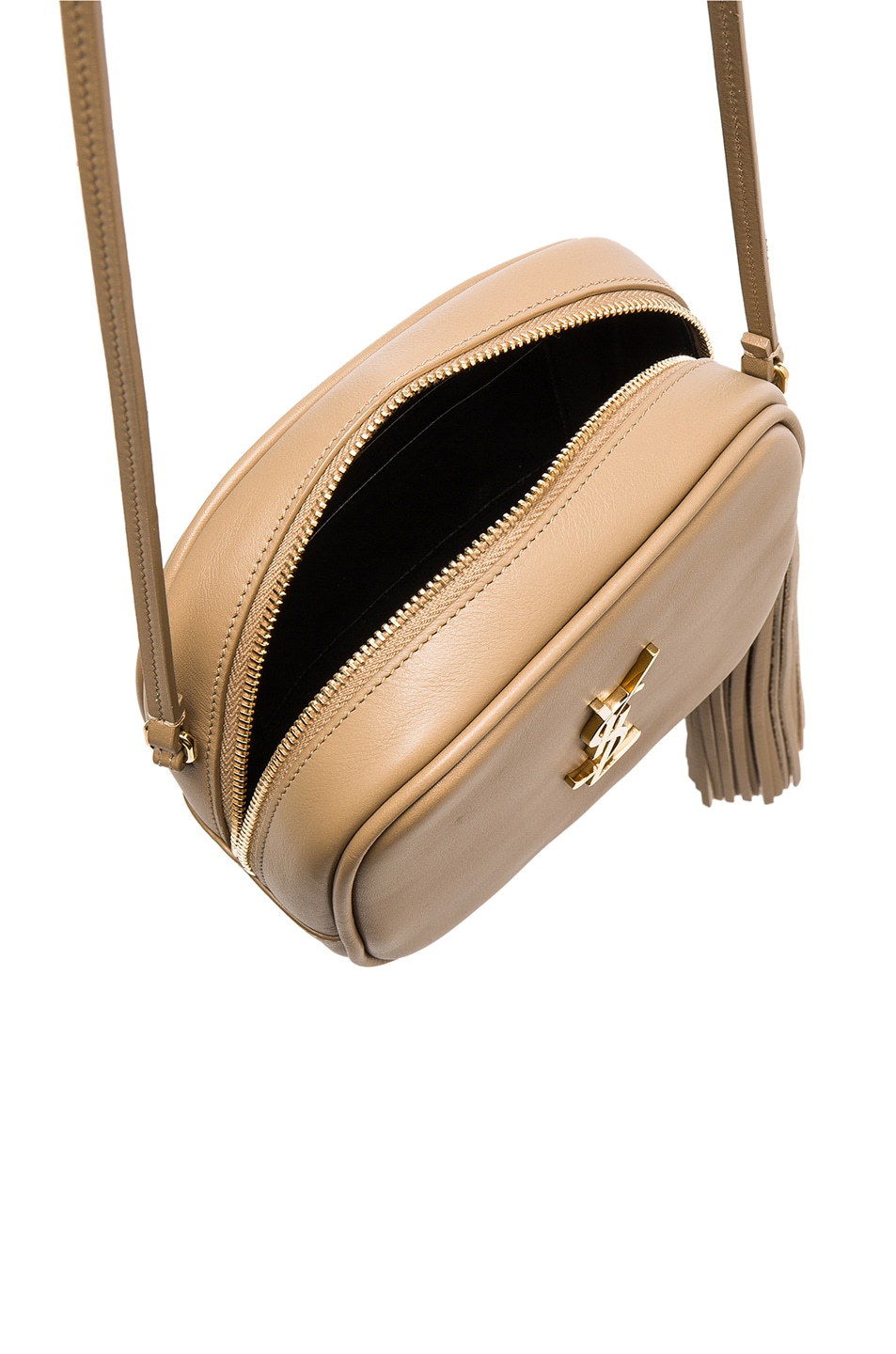 Image 5 of Saint Laurent Blogger Bag in Deep Beige   Black 5cf6129a5f