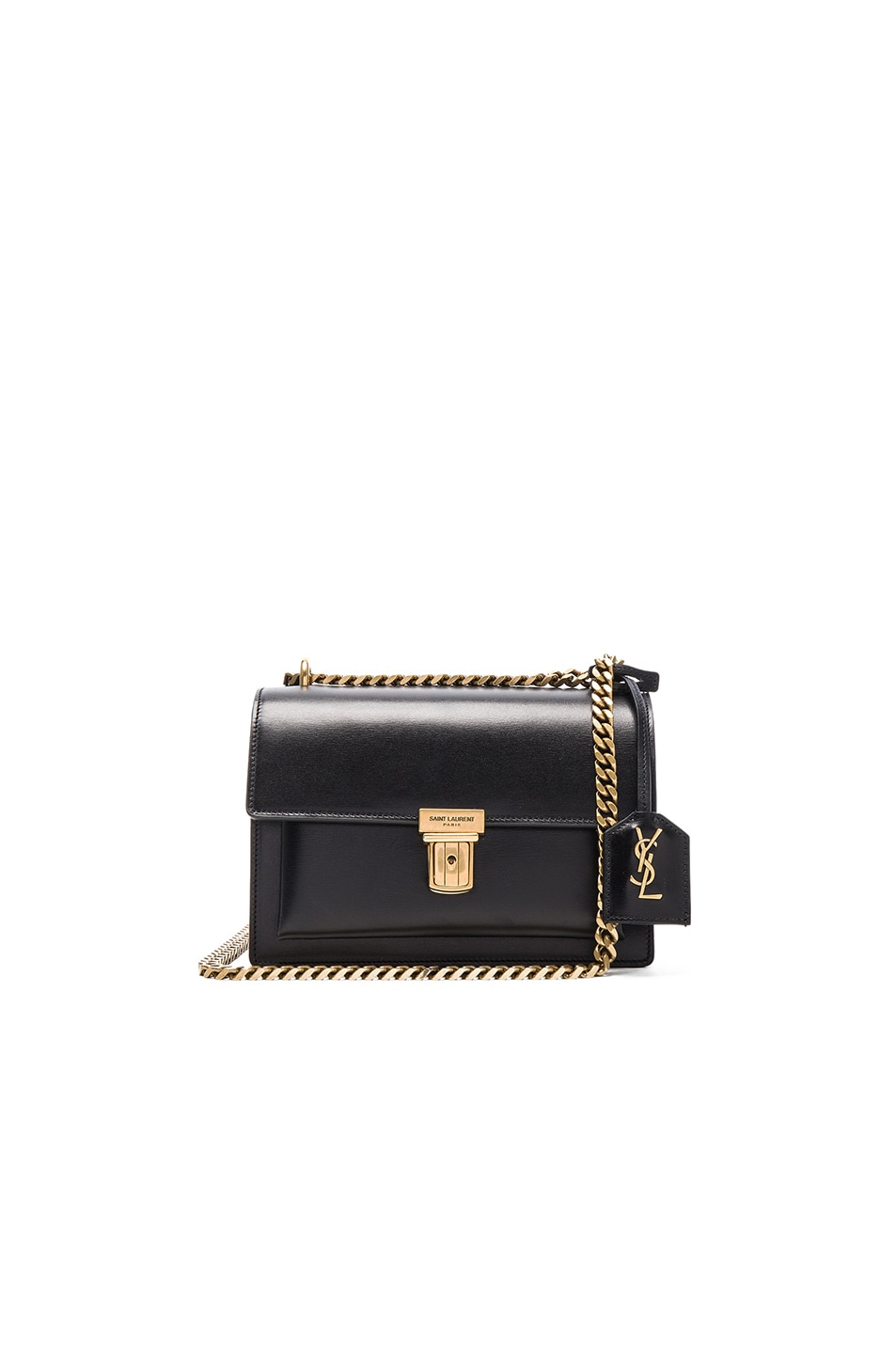 e2f49bd7cb8f Image 1 of Saint Laurent Small Chain High School Bag in Black