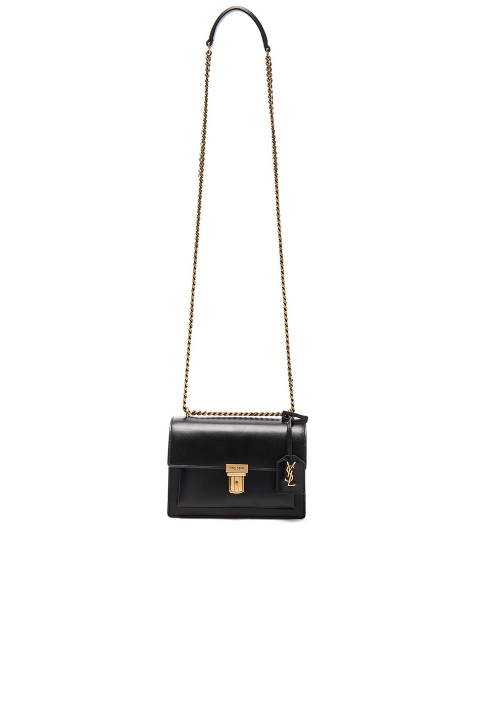 a07f6c1e7305 Image 5 of Saint Laurent Small Chain High School Bag in Black
