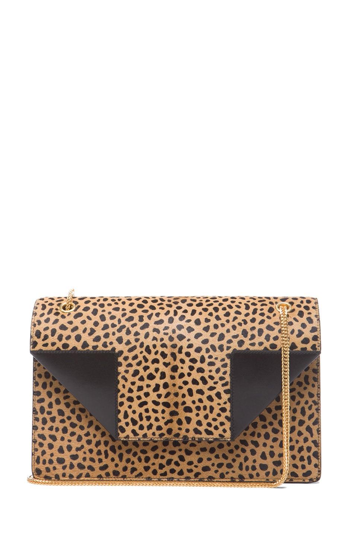 Image 1 of Saint Laurent Medium Betty Chain Bag in Leopard
