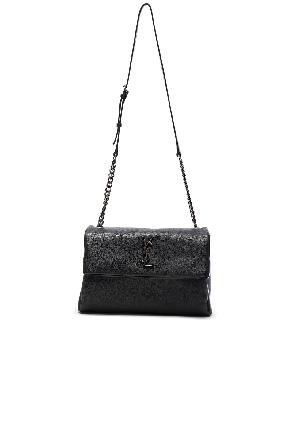 Image 1 of Saint Laurent Medium Monogramme West Hollywood Bag in Black