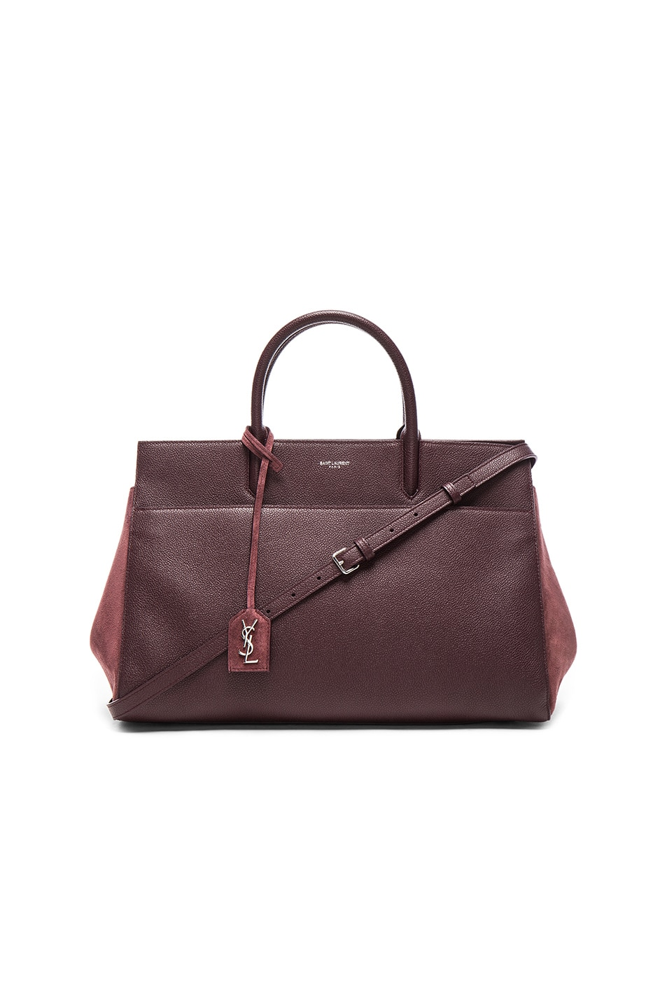 Image 1 of Saint Laurent Rive Gauche Medium Cabas in Bordeaux