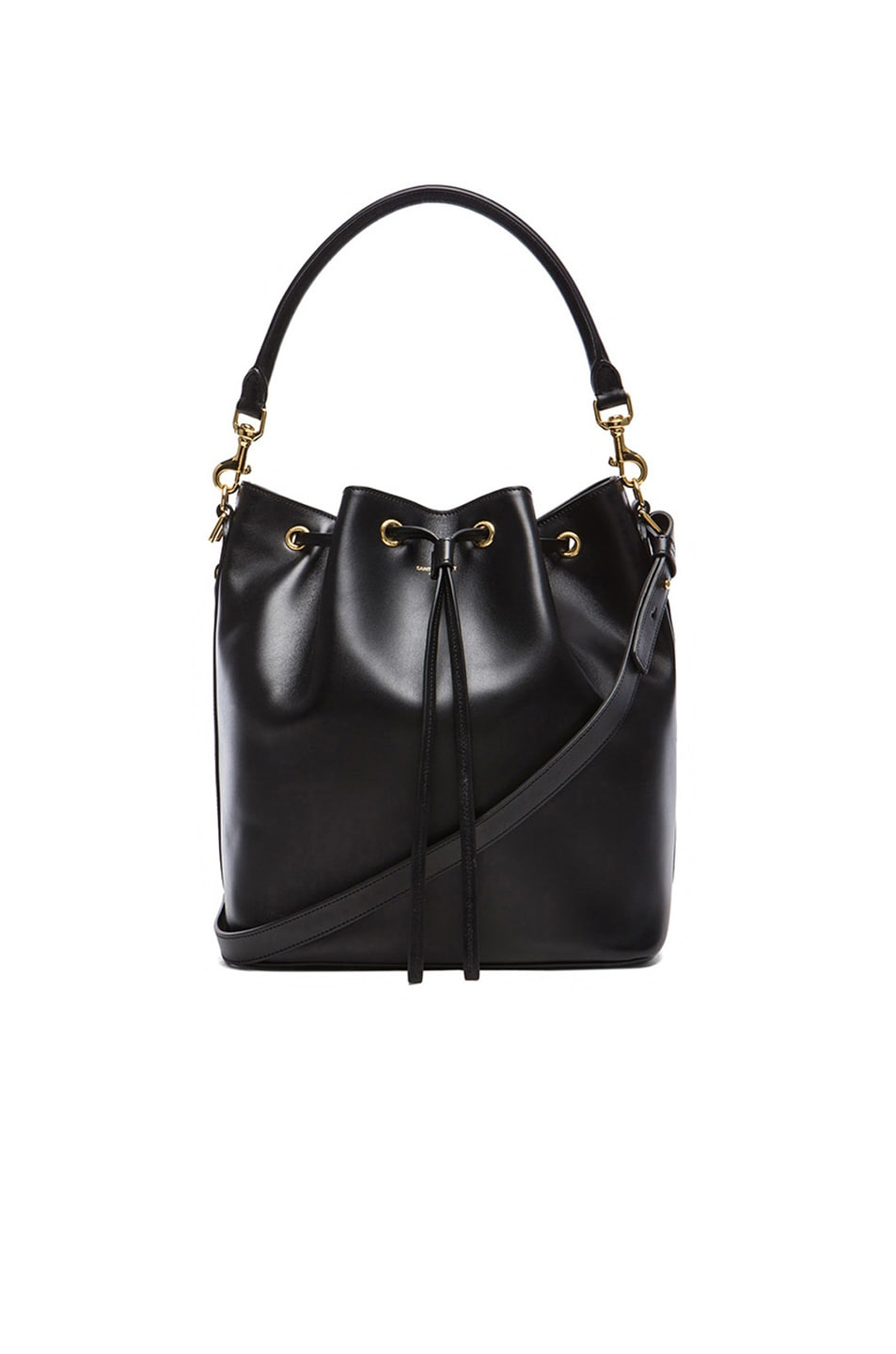 Image 1 of Saint Laurent Medium Bucket Bag in Black