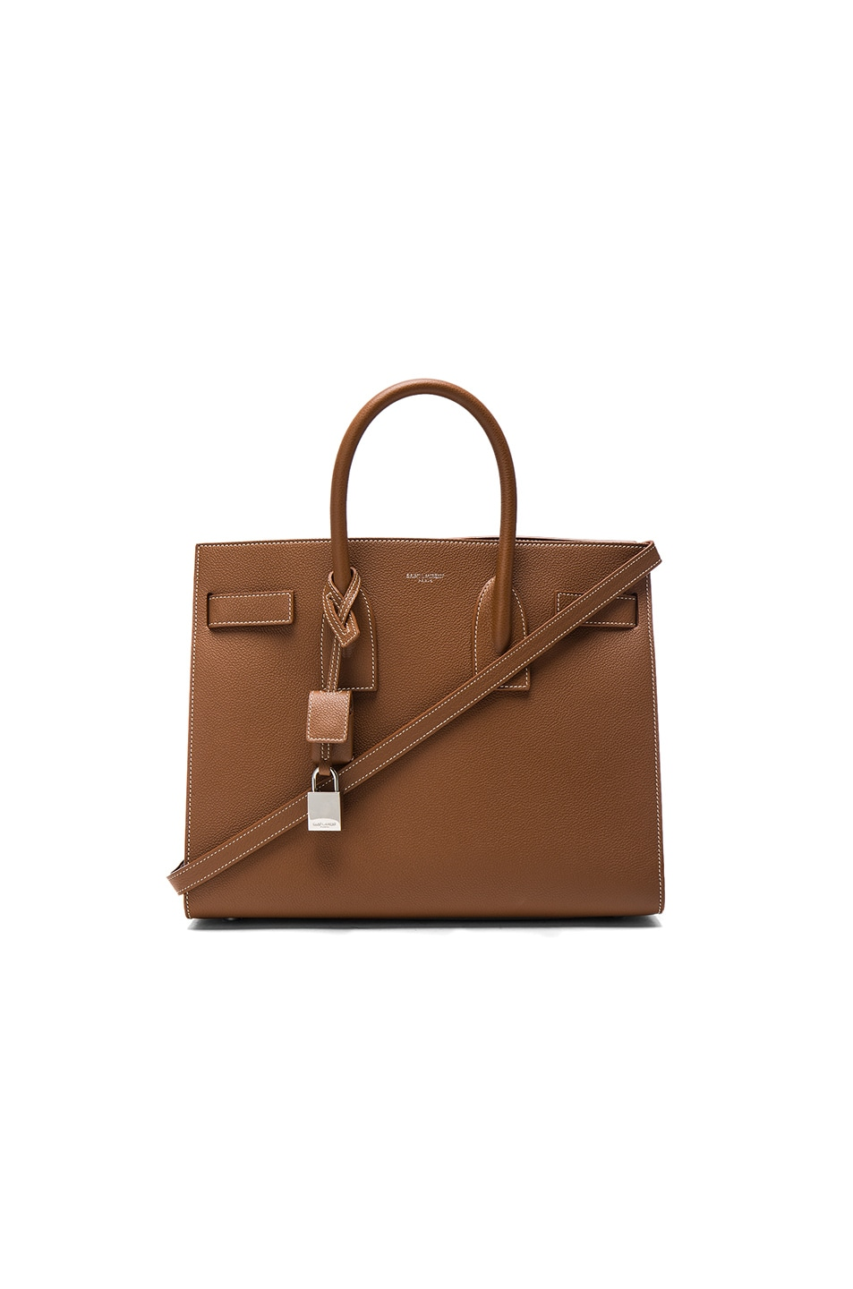 Image 1 of Saint Laurent Small Sac de Jour in Cognac