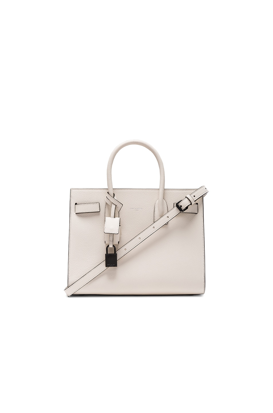 Image 1 of Saint Laurent Baby Sac de Jour in Porcelain & Black