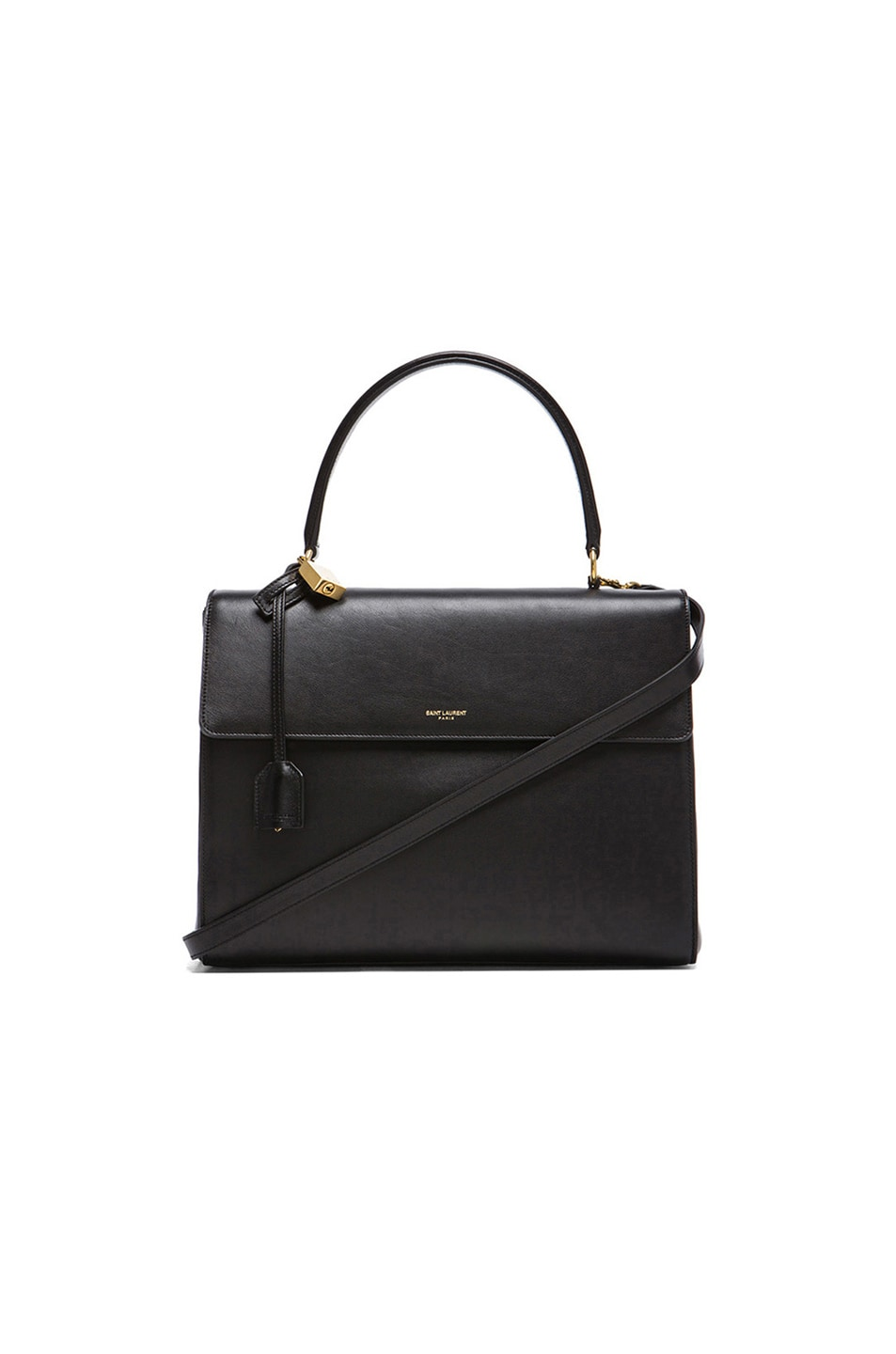 Image 1 of Saint Laurent Large Moujik Bag in Black