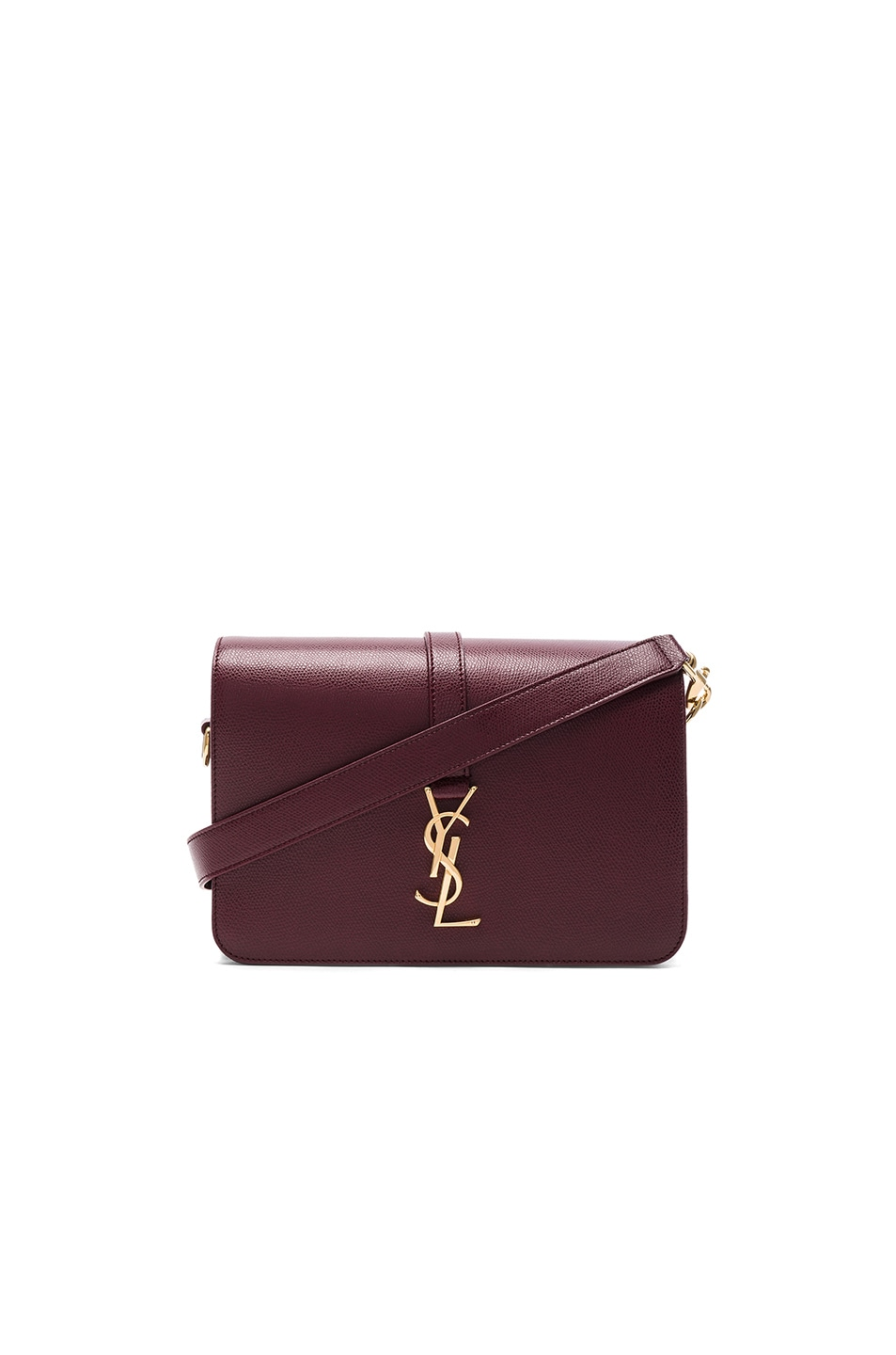 Image 1 of Saint Laurent Sac University Monogramme Bag in Rouge Legion