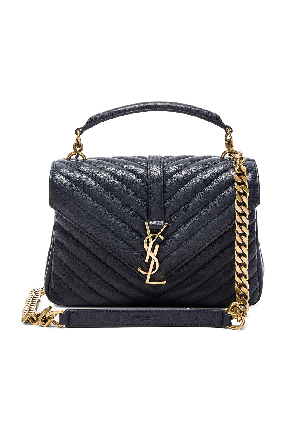 Image 1 of Saint Laurent Medium Monogramme College Bag in Marine