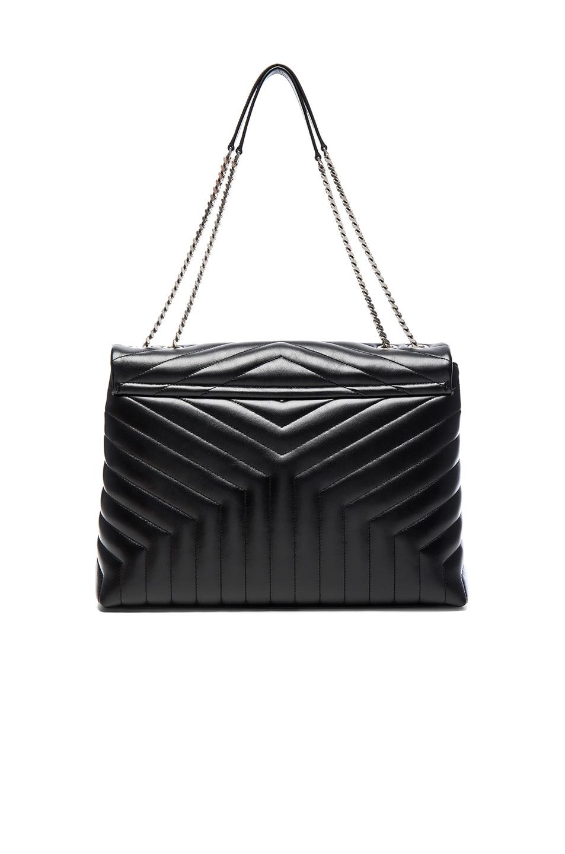 Image 2 of Saint Laurent Slouchy Large Monogramme Shoulder Bag in Black