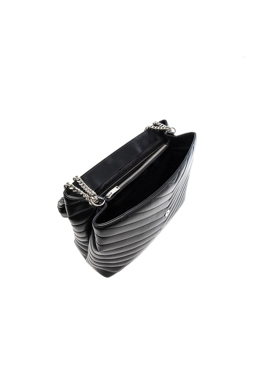 Image 4 of Saint Laurent Slouchy Large Monogramme Shoulder Bag in Black