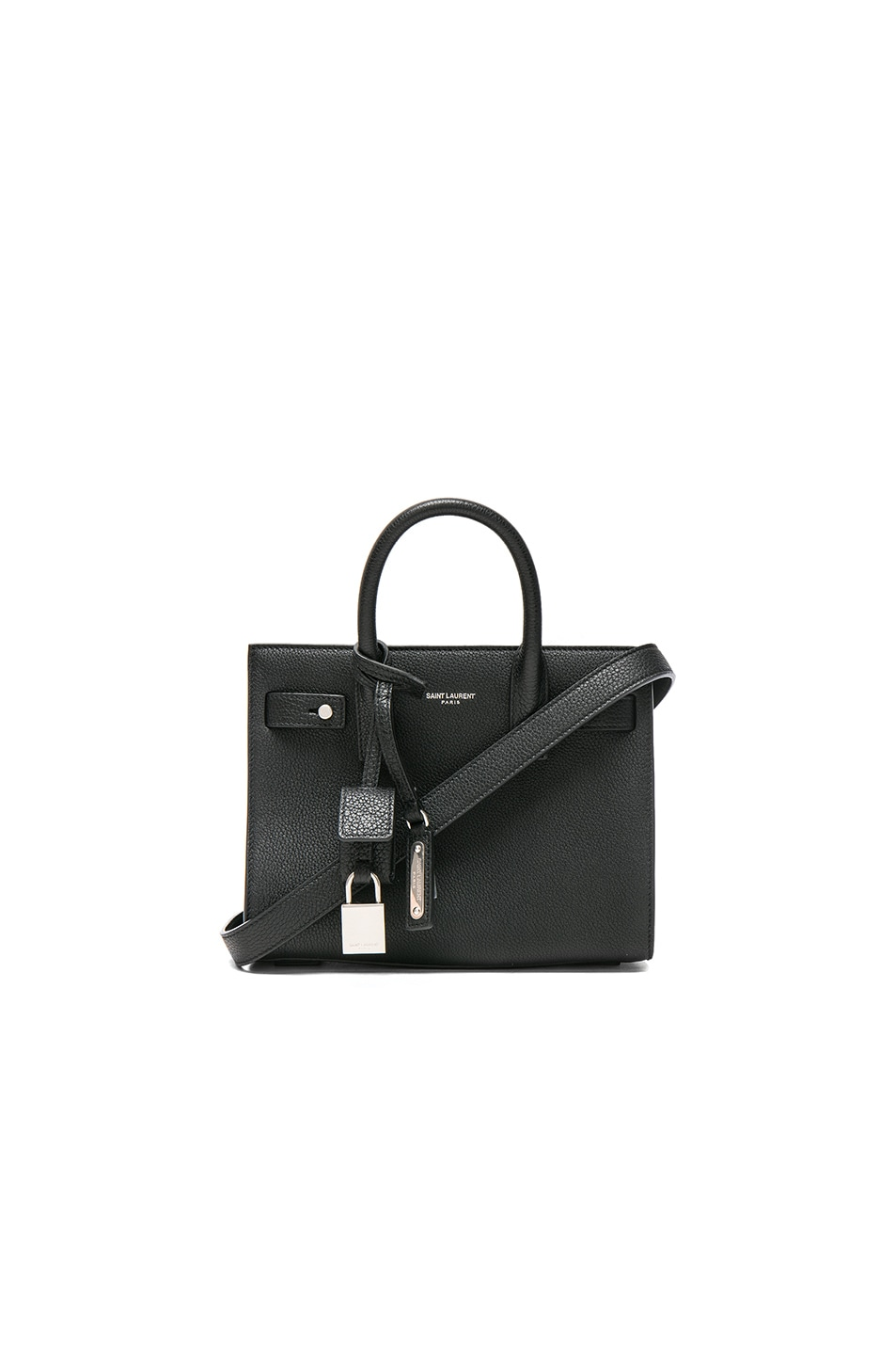Image 1 of Saint Laurent Nano Supple Sac de Jour in Black