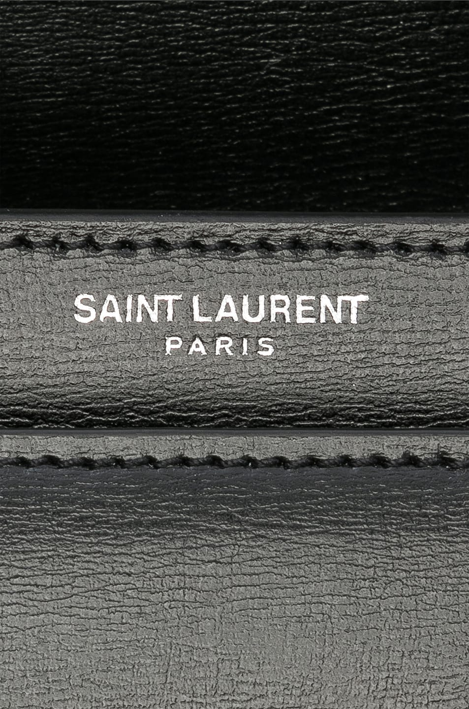 Image 7 of Saint Laurent Medium Monogramme Sunset Chain Bag in Black