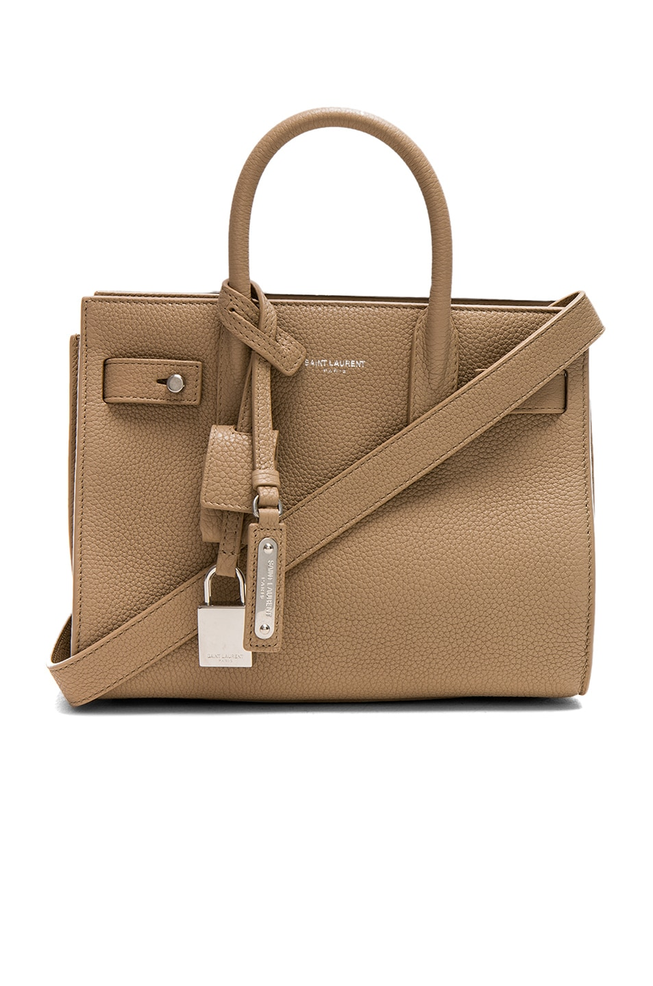 Image 1 of Saint Laurent Nano Supple Sac de Jour in Dark Beige