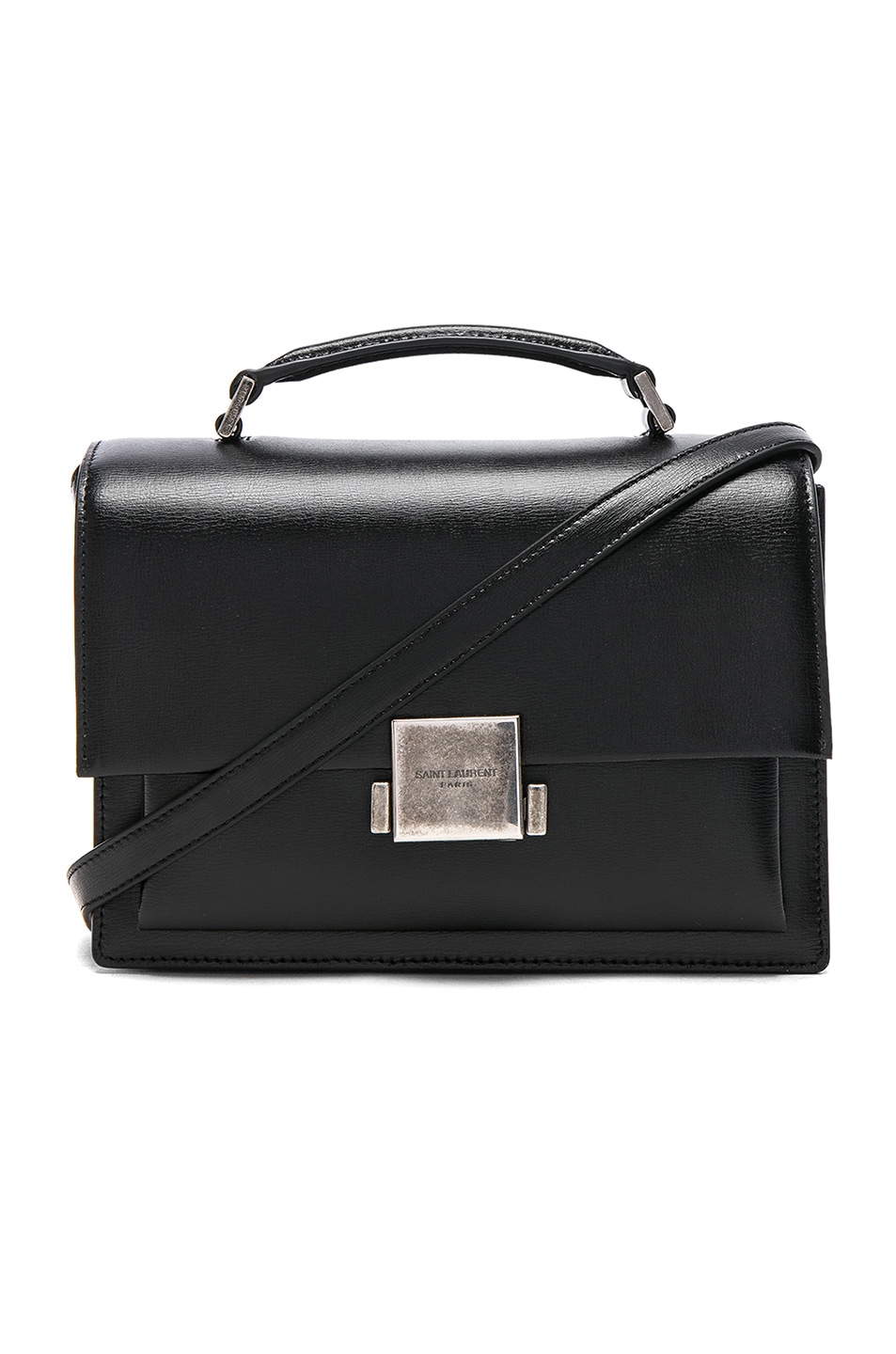 Image 1 of Saint Laurent Medium Bellechasse Schoolbag in Black