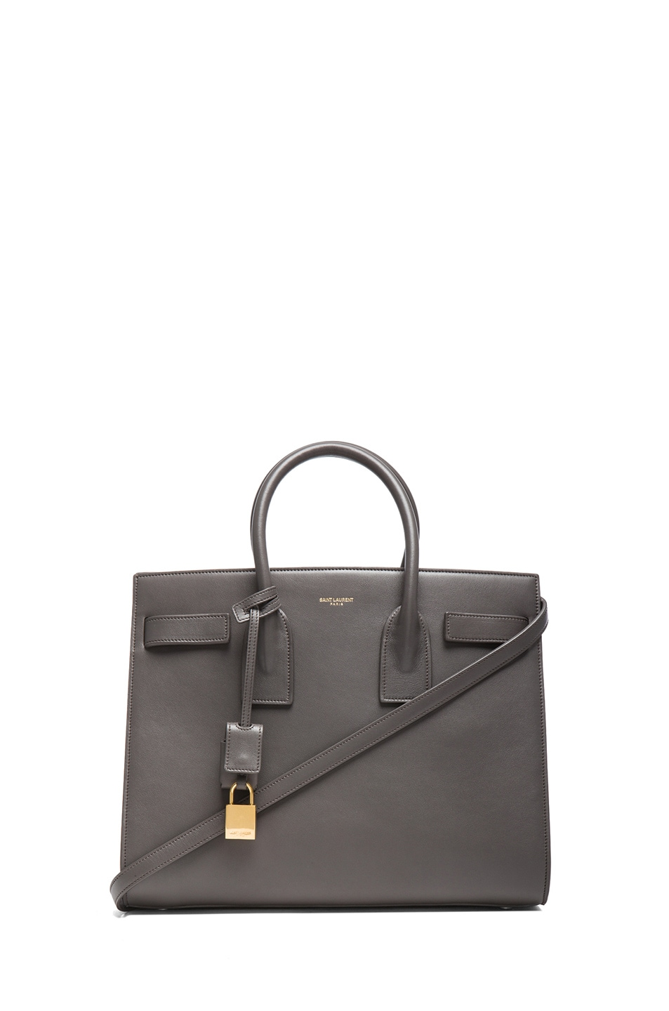 Image 1 of Saint Laurent Small Sac De Jour Carryall Bag in Earth