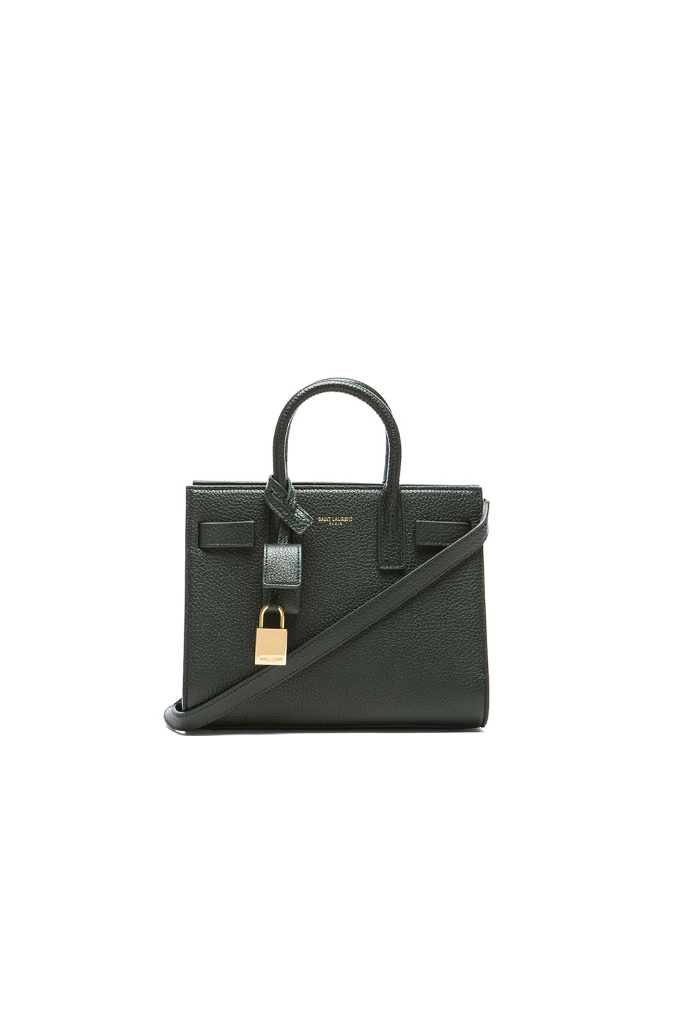 Image 1 of Saint Laurent Nano Sac De Jour Carryall Bag in Green