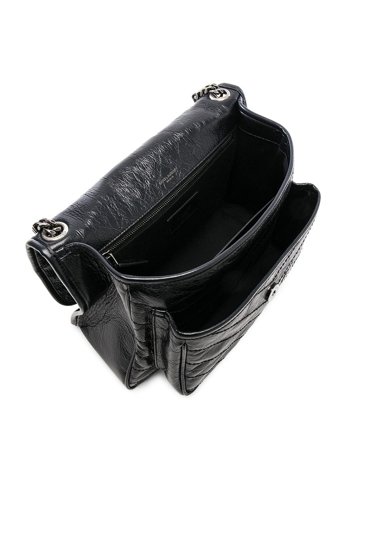 12f19b4e6e Image 5 of Saint Laurent Medium Niki Monogramme Chain Bag in Black