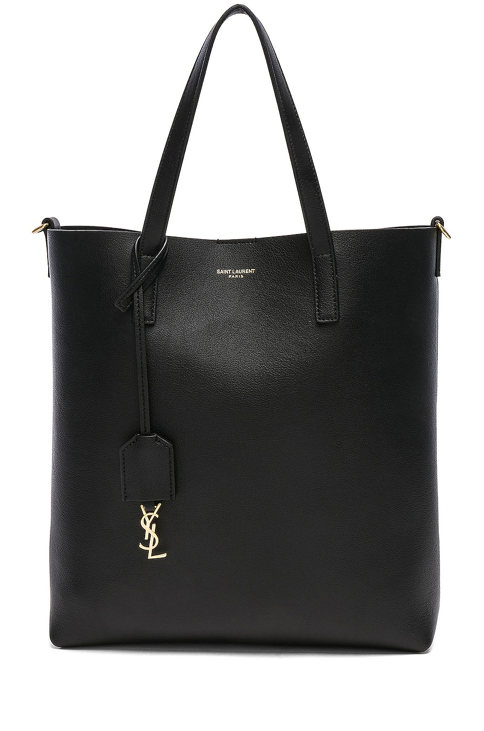 Image 1 of Saint Laurent Toy North South Tote Bag in Black