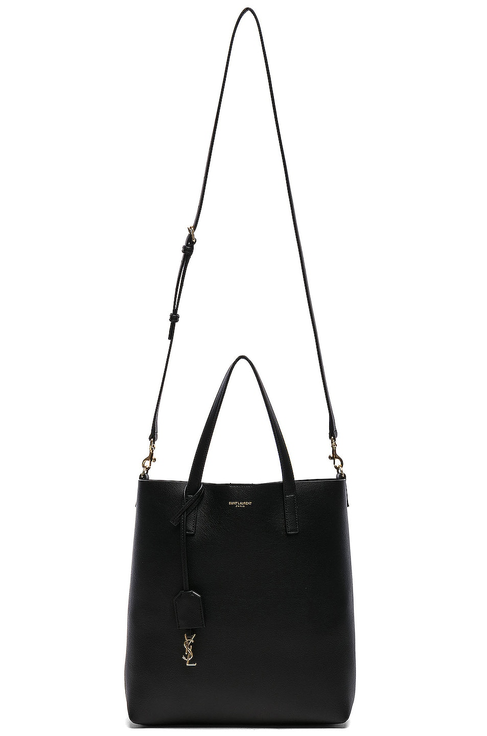 Image 6 of Saint Laurent Toy North South Tote Bag in Black