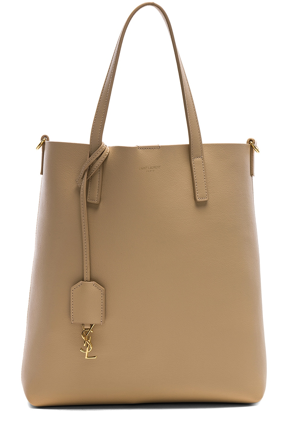 Image 1 of Saint Laurent Toy North South Tote Bag in Nude Powder 44d1c60ae183b