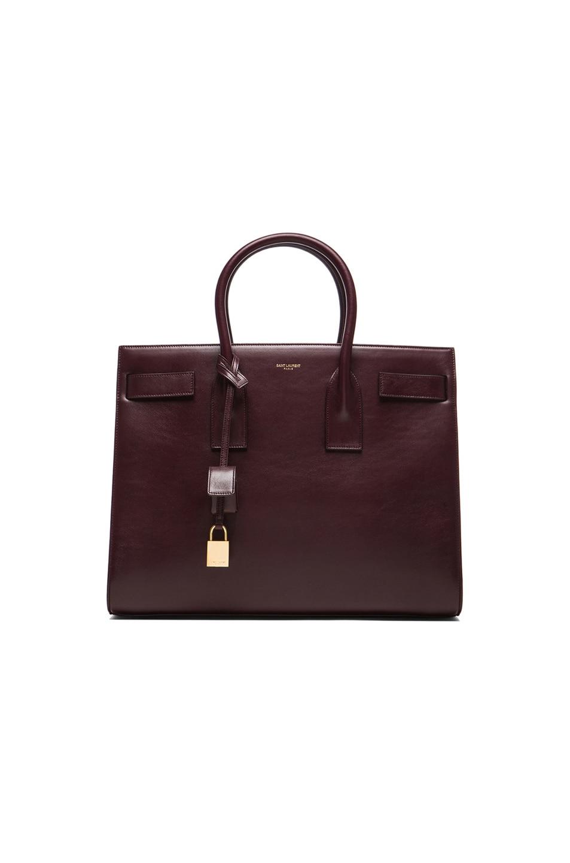 Image 1 of Saint Laurent Large Sac De Jour Carryall Bag in Bordeaux