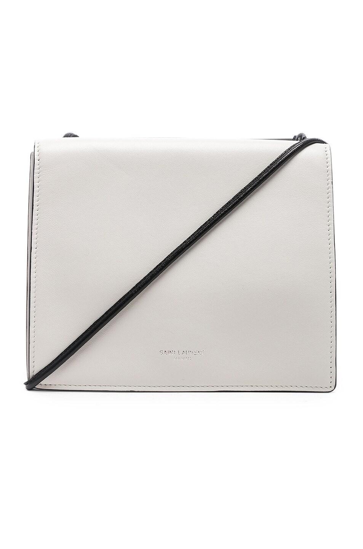 Ysl White Black Bag