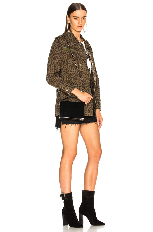 Image 2 of Saint Laurent Nan Leather Box Bag in Black