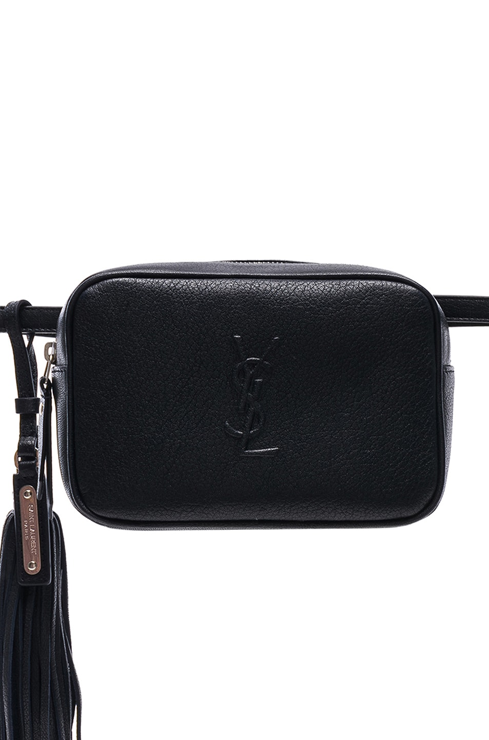 Image 1 of Saint Laurent Monogramme Lou Hip Belt with Pouch in Marine