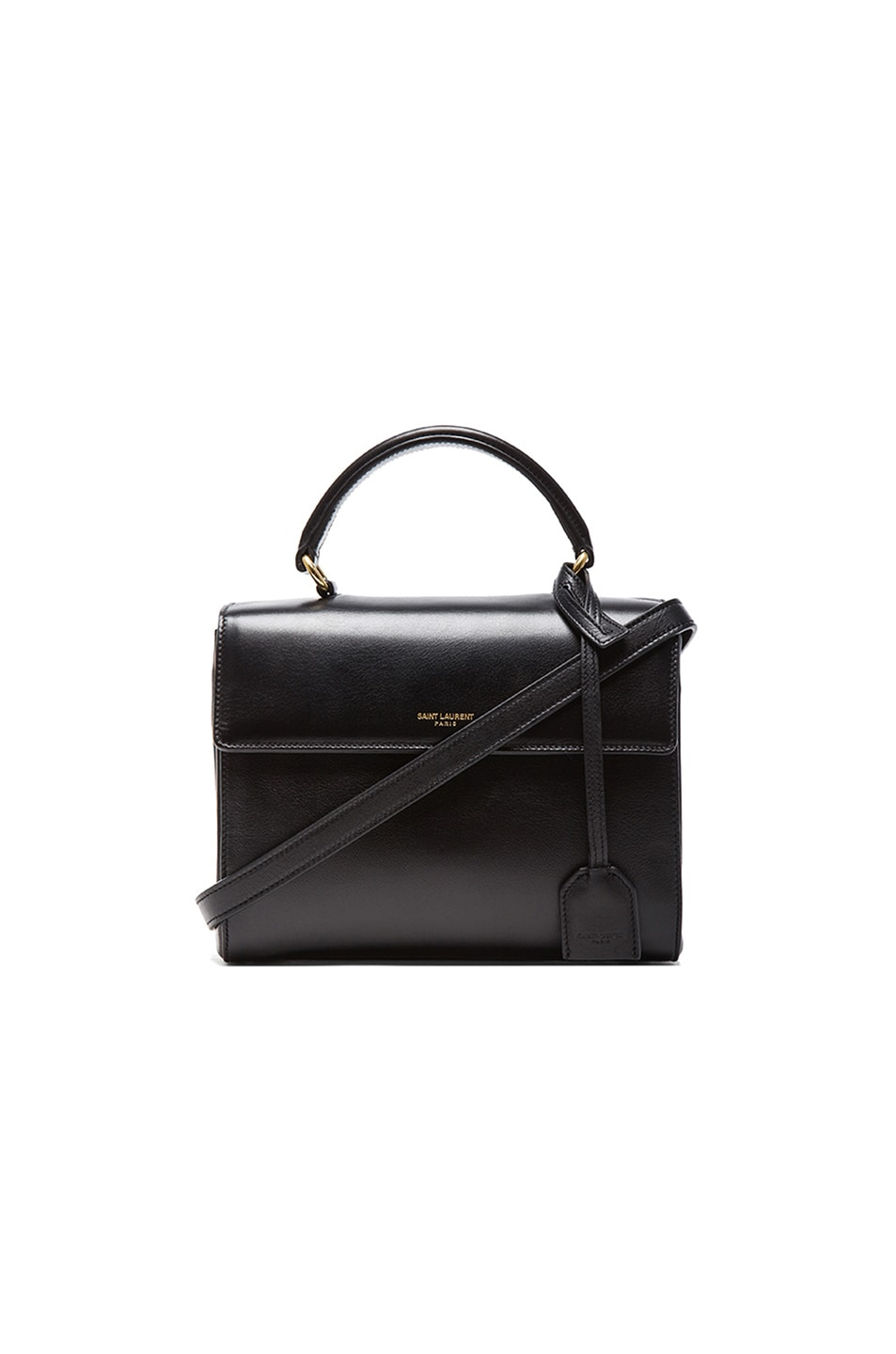 Image 1 of Saint Laurent Small Moujik Bag in Black
