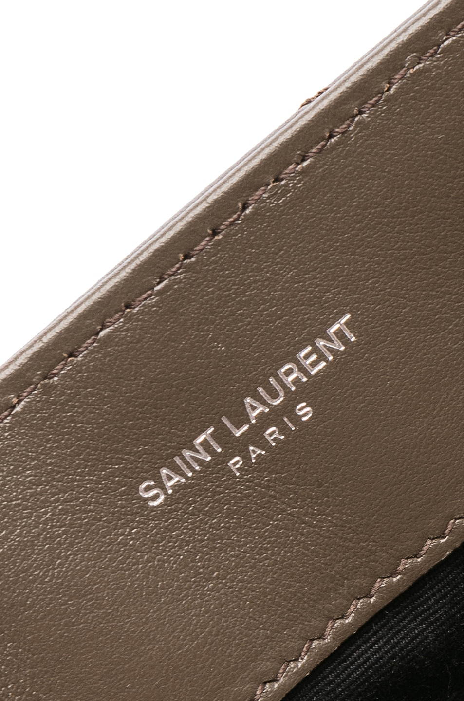 Image 6 of Saint Laurent Monogramme LouLou Shoulder Bag in Faggio & Faggio