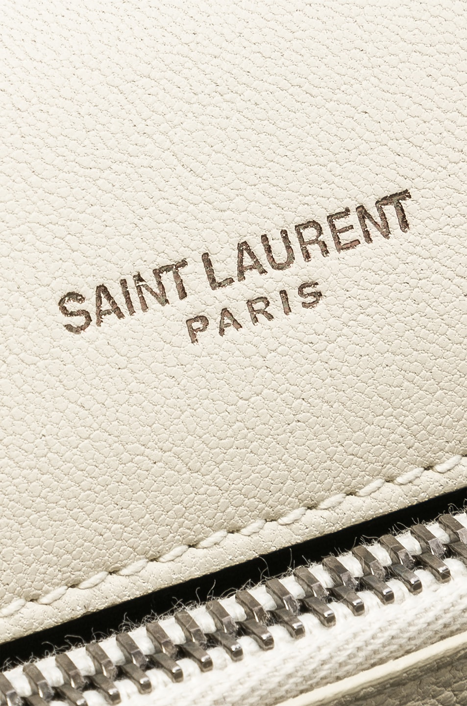 Image 7 of Saint Laurent Medium Monogramme College Bag in Crema Soft