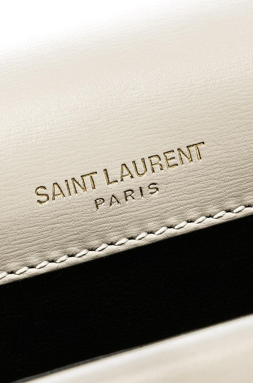 Image 7 of Saint Laurent Medium Monogramme Bag in Blanc Vintage