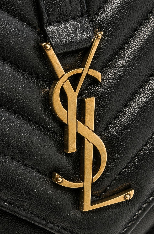 Image 8 of Saint Laurent Medium Monogramme College Bag in Black