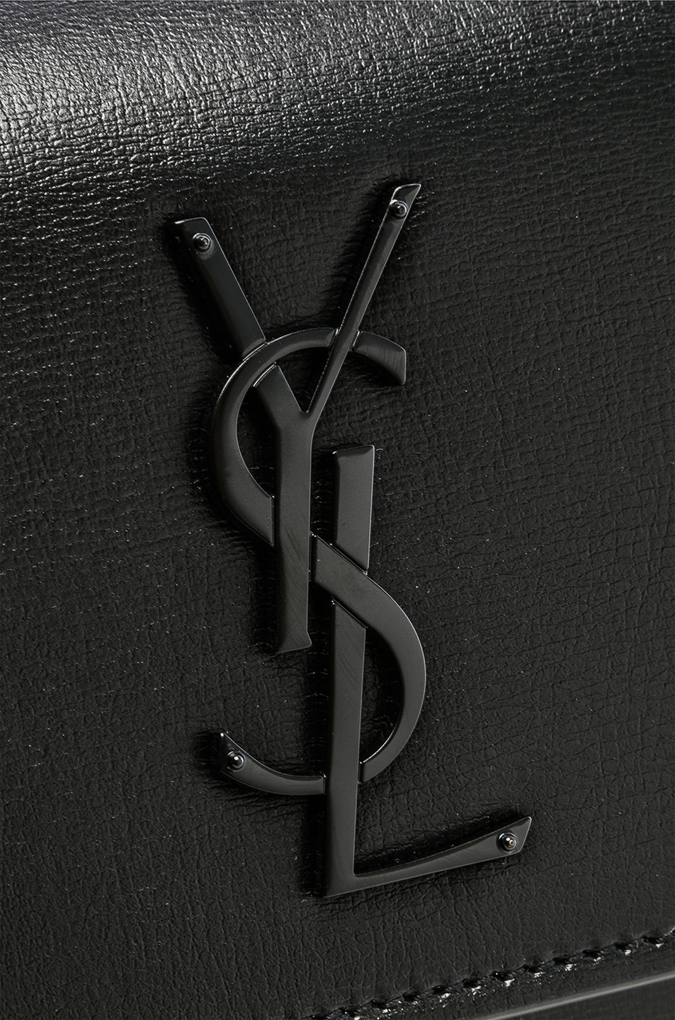 Image 8 of Saint Laurent Monogramme Sunset Shoulder Bag in Black