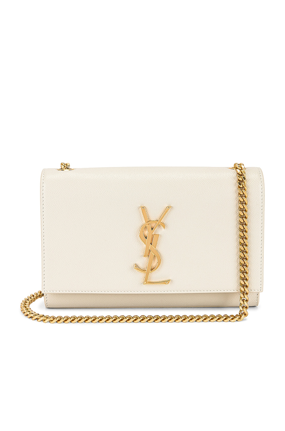 Image 1 of Saint Laurent Kate Crossbody Bag in Crema Soft
