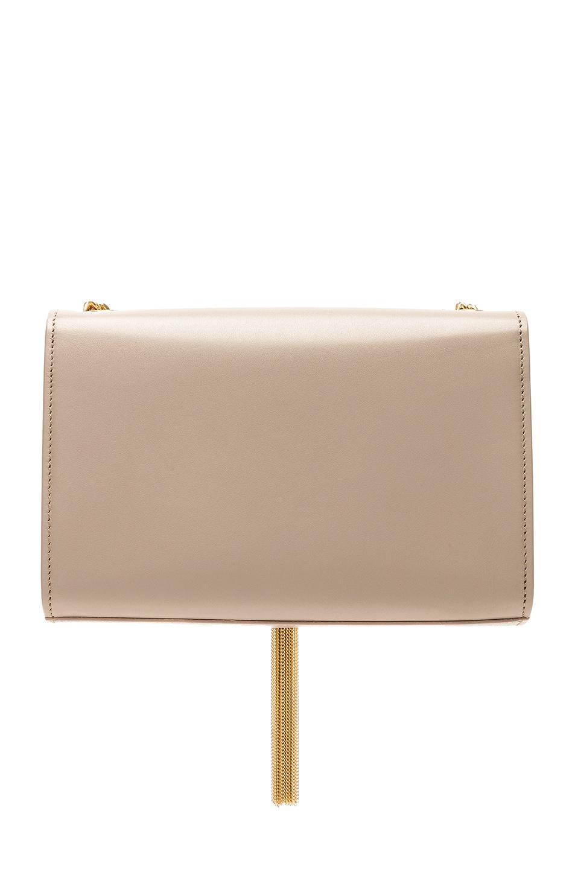 Image 3 of Saint Laurent Kate Tassel Chain Bag in Light Natural