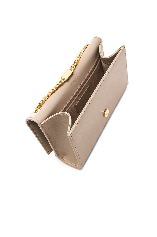 Image 5 of Saint Laurent Kate Tassel Chain Bag in Light Natural