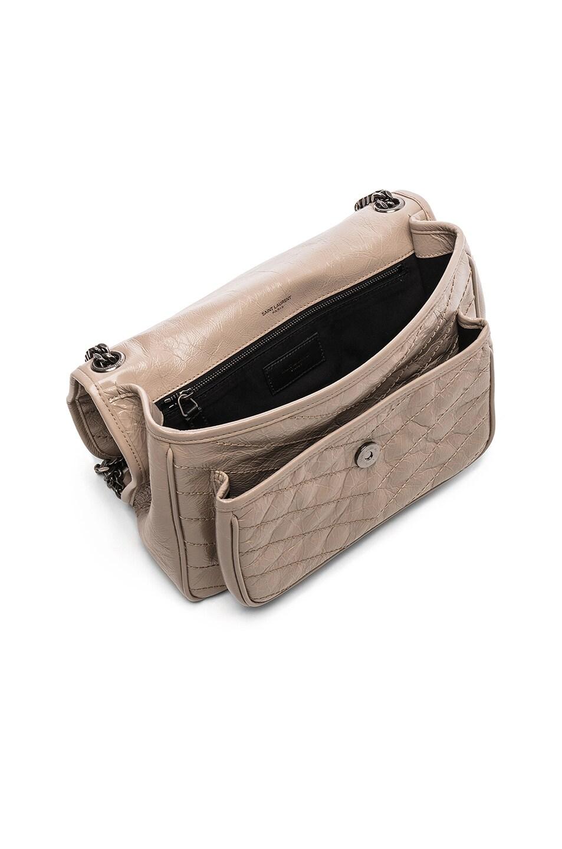 Image 5 of Saint Laurent Monogramme Niki Shoulder Bag in Light Natural