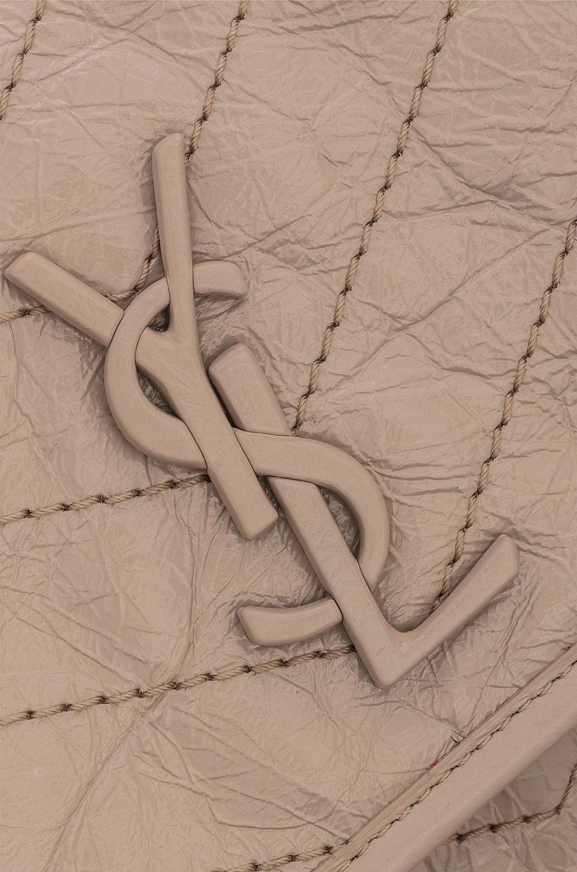 Image 8 of Saint Laurent Monogramme Niki Shoulder Bag in Light Natural