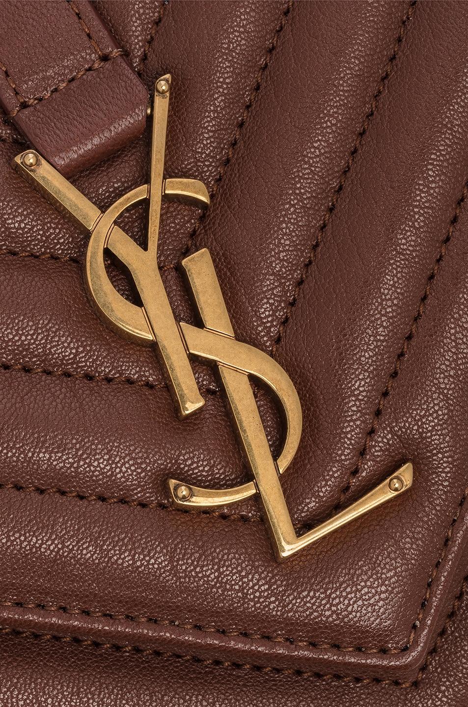 Image 7 of Saint Laurent Medium Monogramme College Bag in Old Brandy