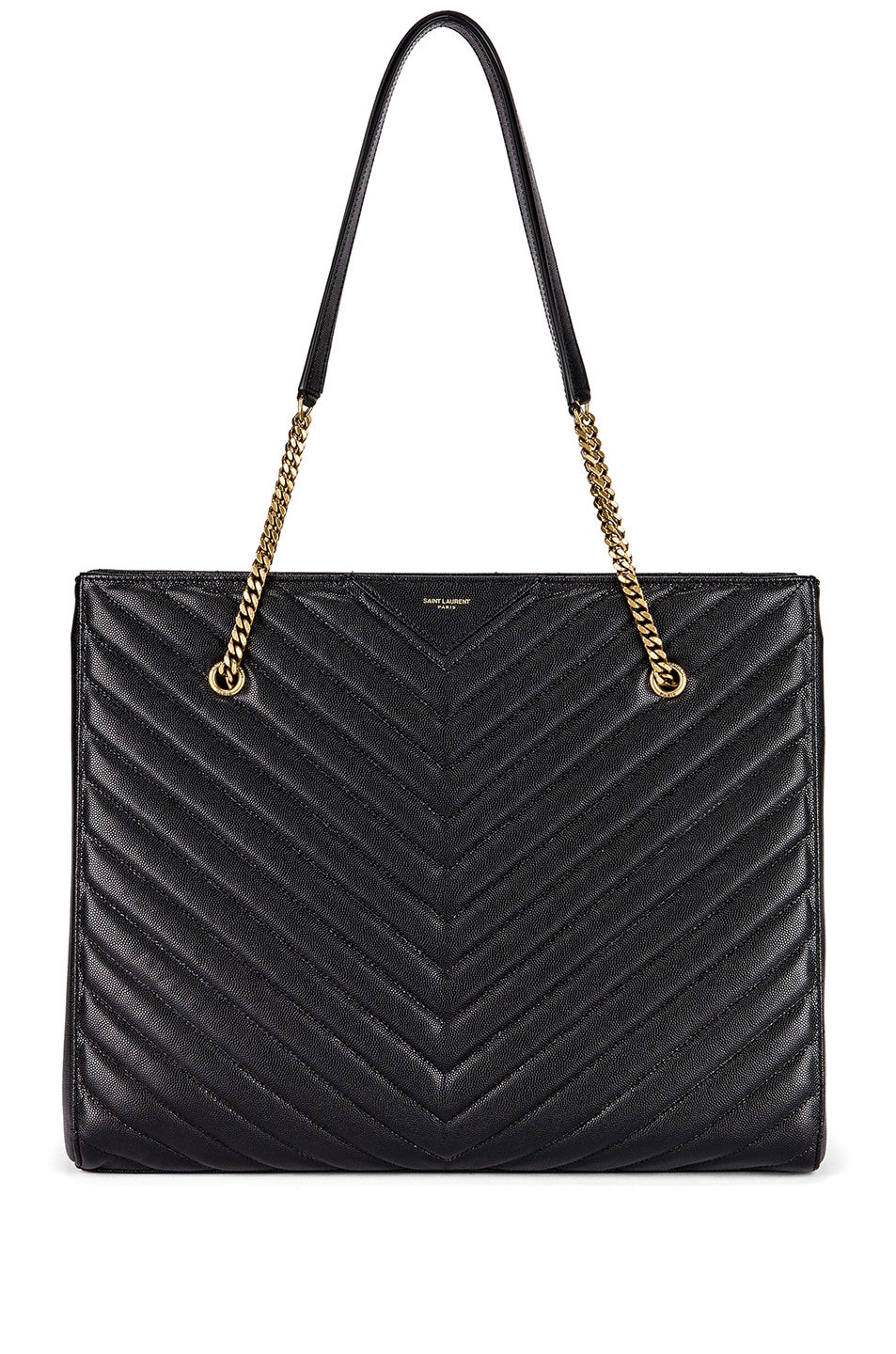 Image 1 of Saint Laurent Jumbo Tribeca Bag in Black