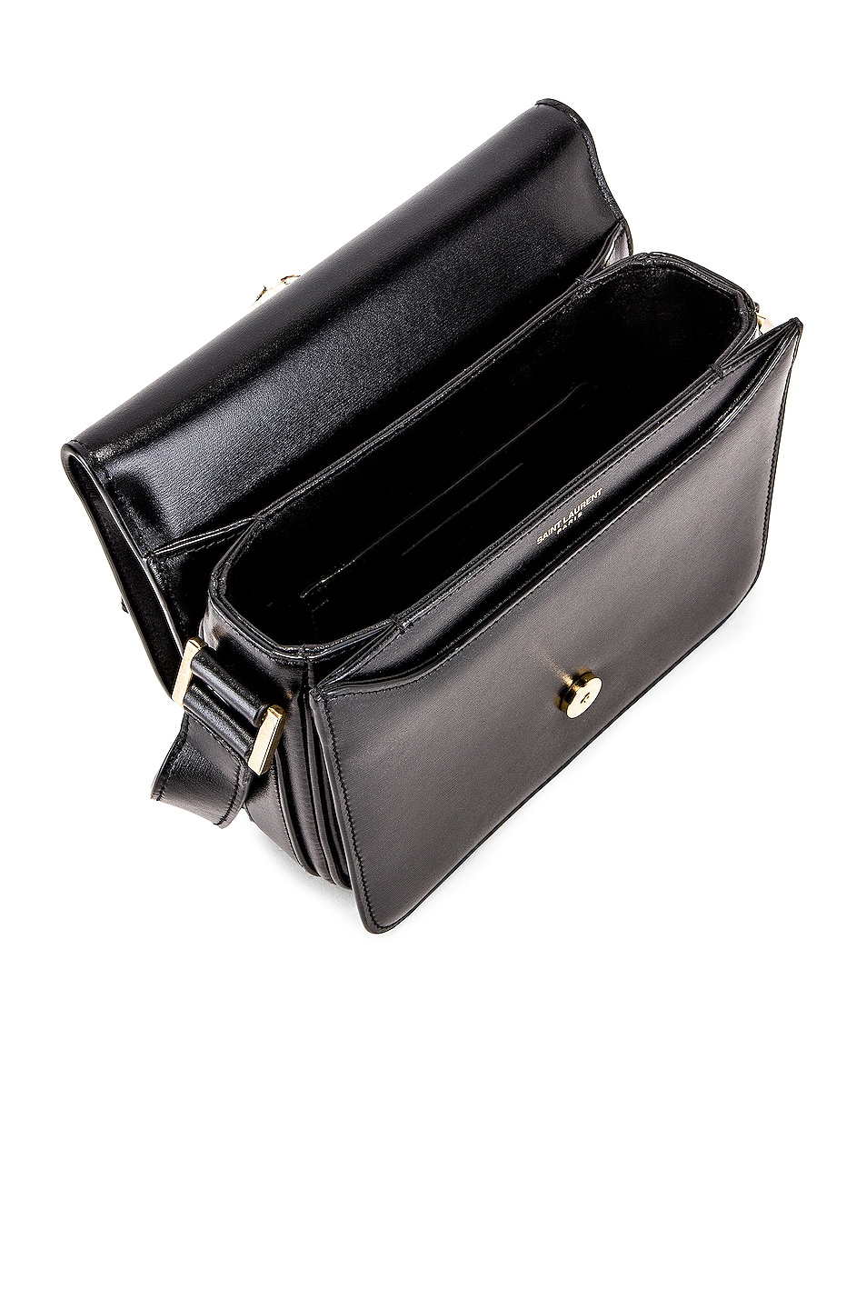 Image 5 of Saint Laurent Small Le Besace Bag in Black