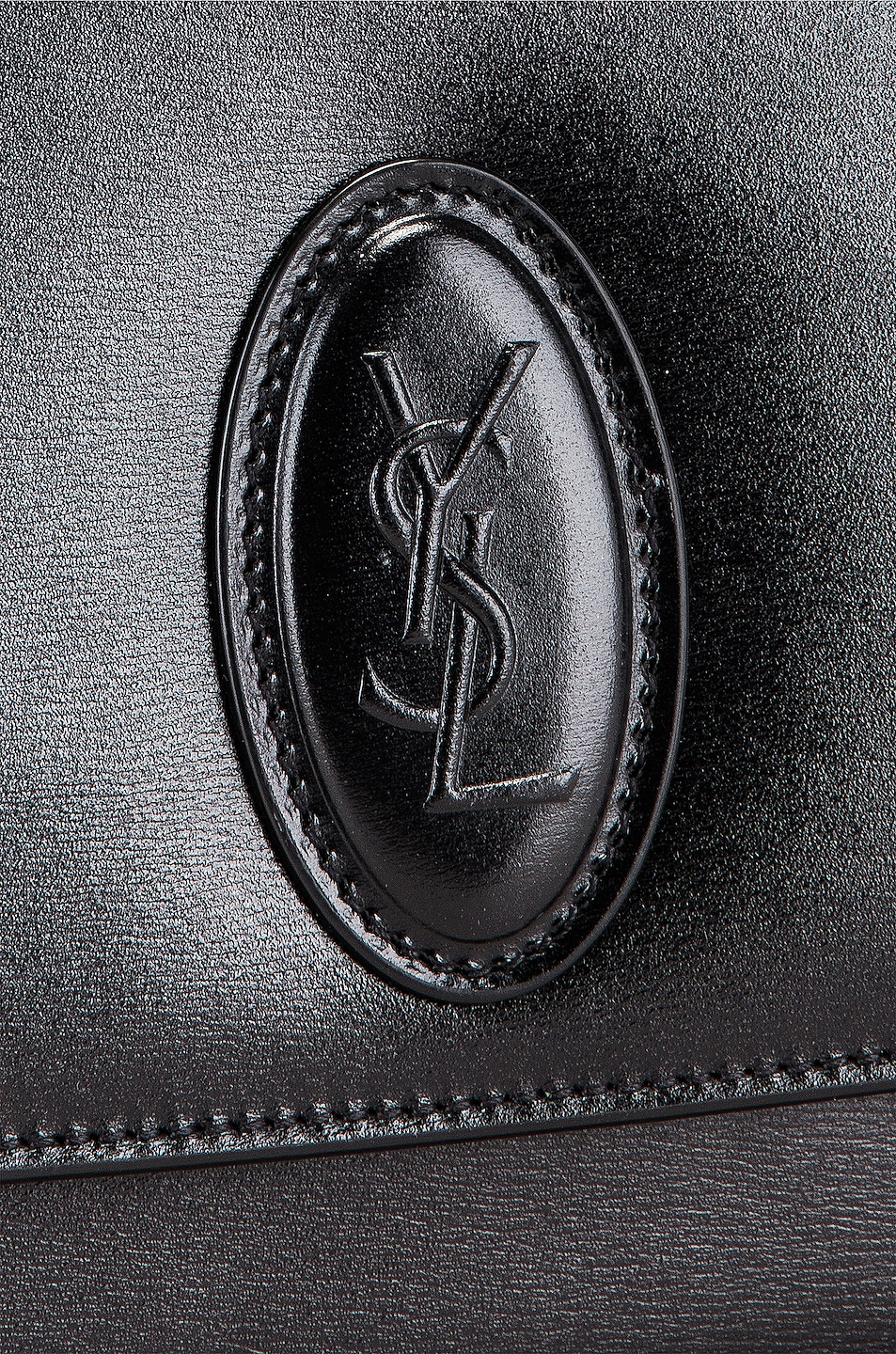 Image 8 of Saint Laurent Small Le Besace Bag in Black