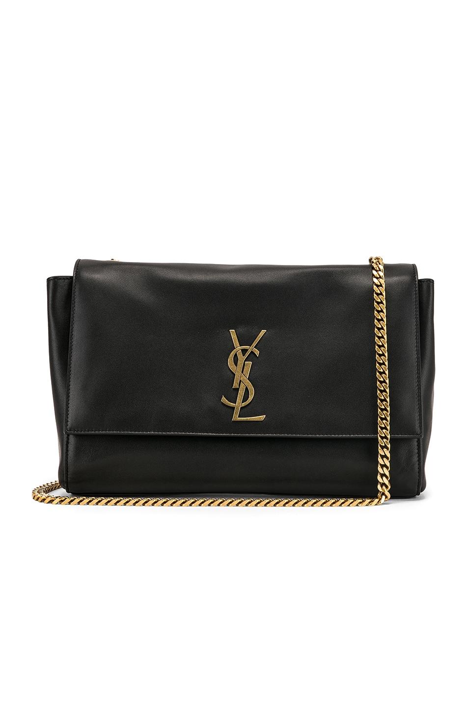 Image 3 of Saint Laurent Reversible Monogramme Kate Bag in Black
