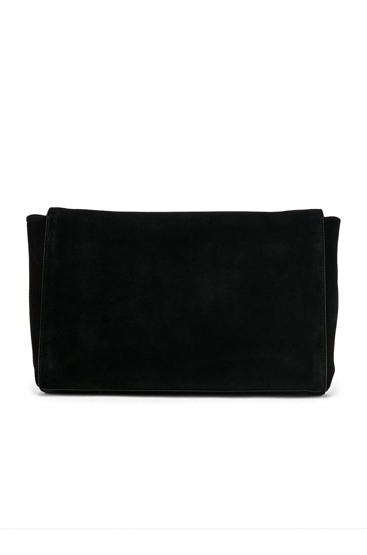 Image 4 of Saint Laurent Reversible Monogramme Kate Bag in Black