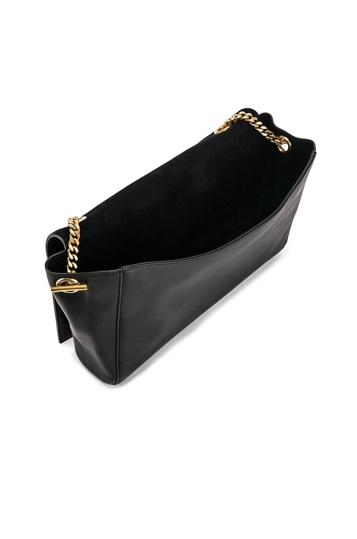 Image 6 of Saint Laurent Reversible Monogramme Kate Bag in Black