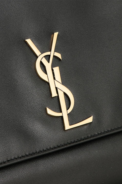 Image 8 of Saint Laurent Reversible Monogramme Kate Bag in Black