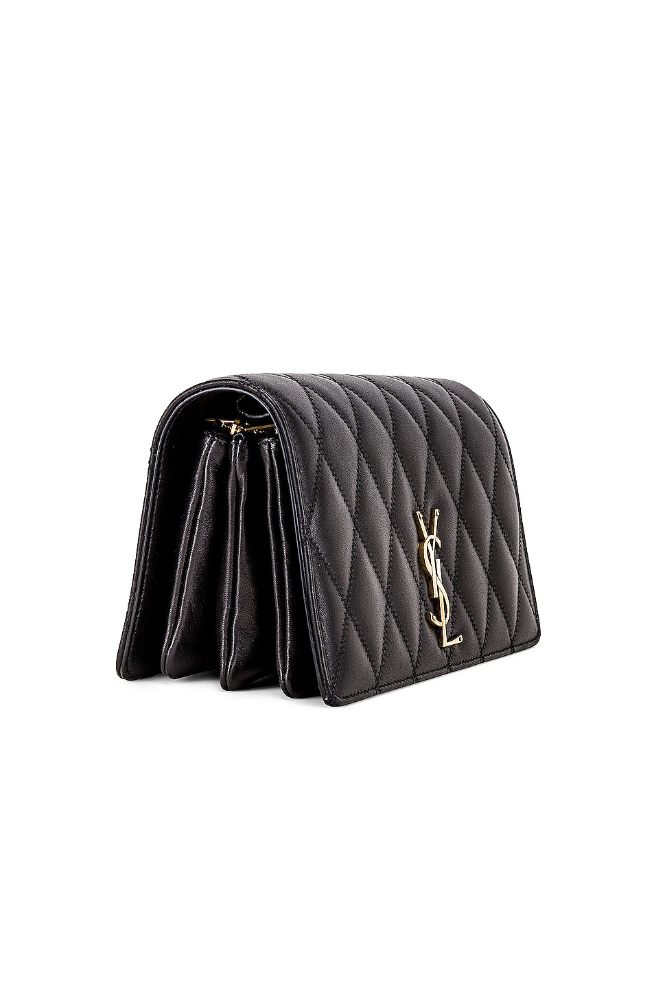 Image 4 of Saint Laurent Angie Chain Bag in Black