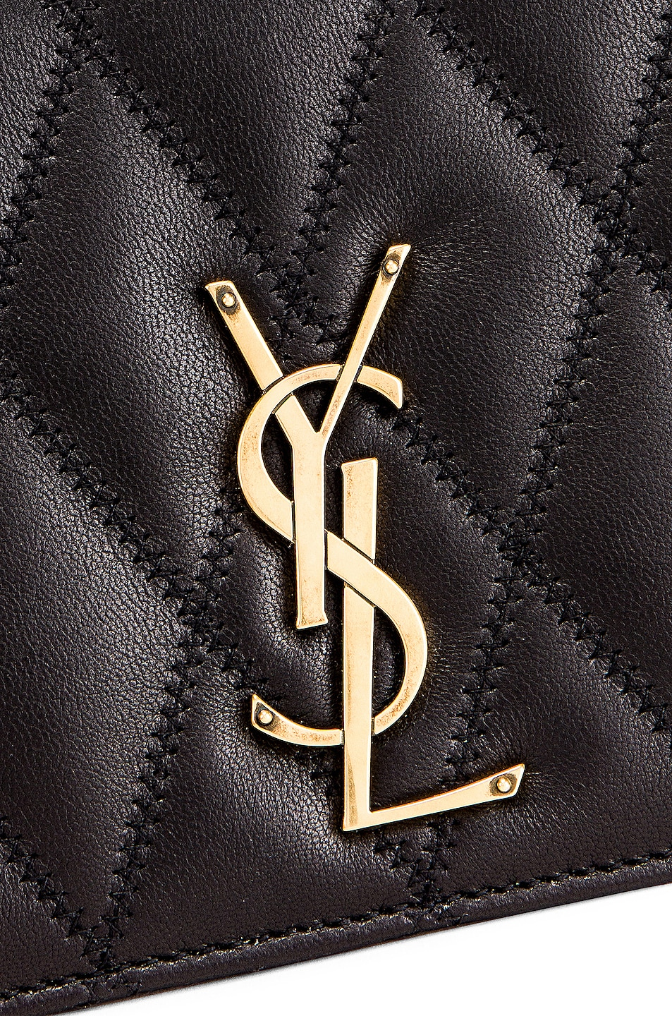 Image 8 of Saint Laurent Angie Chain Bag in Black