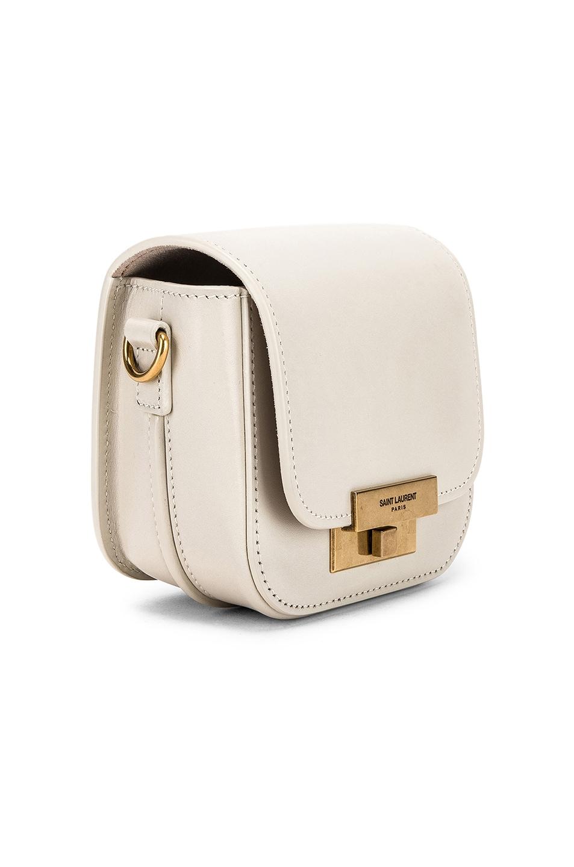 Image 4 of Saint Laurent Mini Betty Satchel Bag in Blanc Vintage